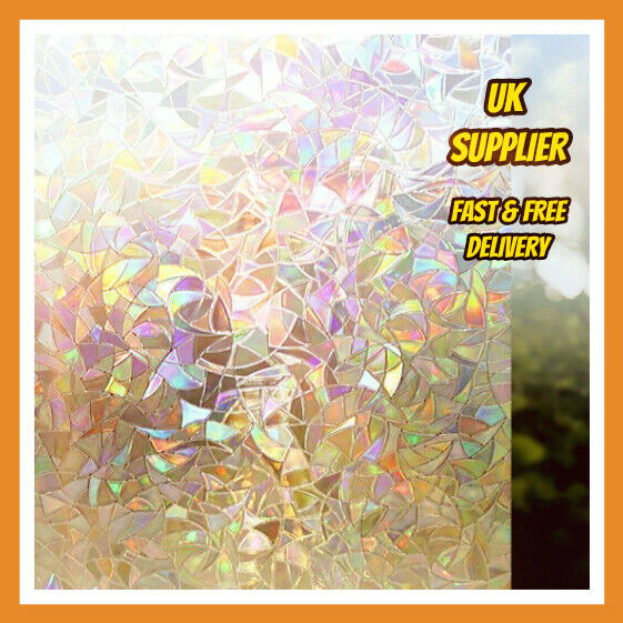 Frosted Textured Privacy 3d Decorative Window Film Free
