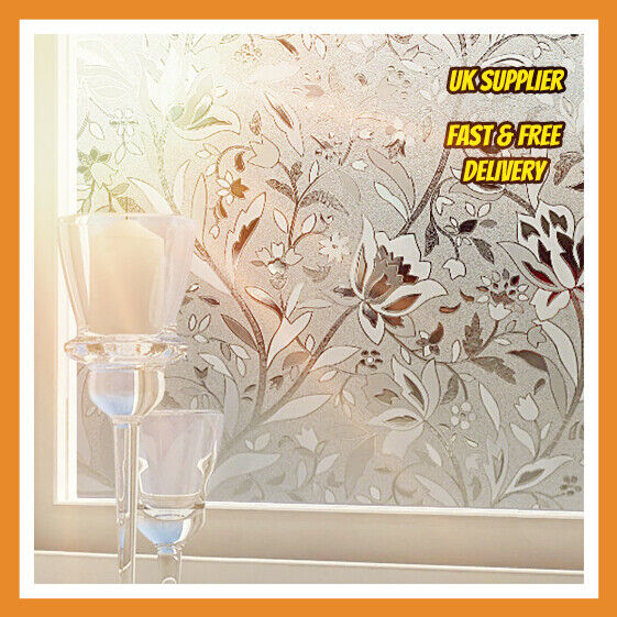3d Decorative Window Film Stained Glass Vinyl Paper