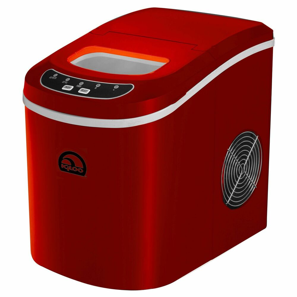New iGloo Kitchen Electronic Portable Compact Ice Maker Counter Top ...