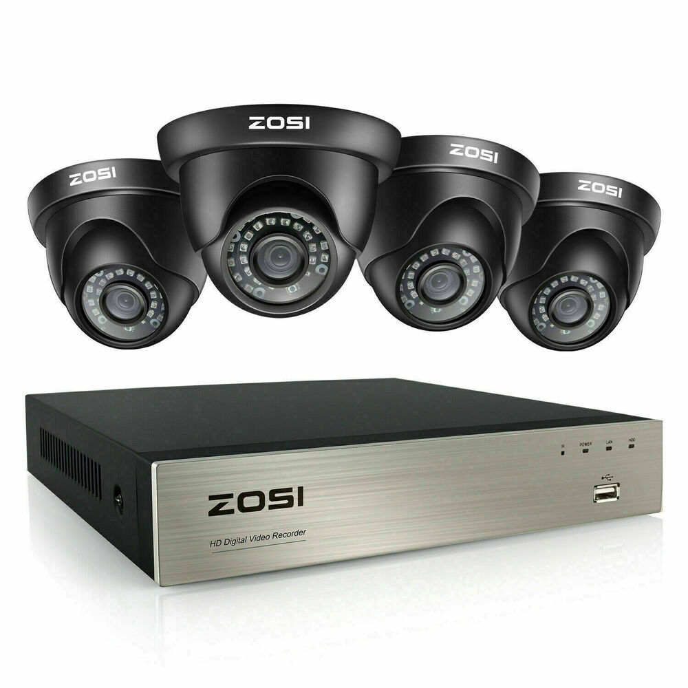 Zosi Hd 1080n 8ch Hdmi Dvr 1500tvl Ir Outdoor Cctv Home Security Camera System Martlocal