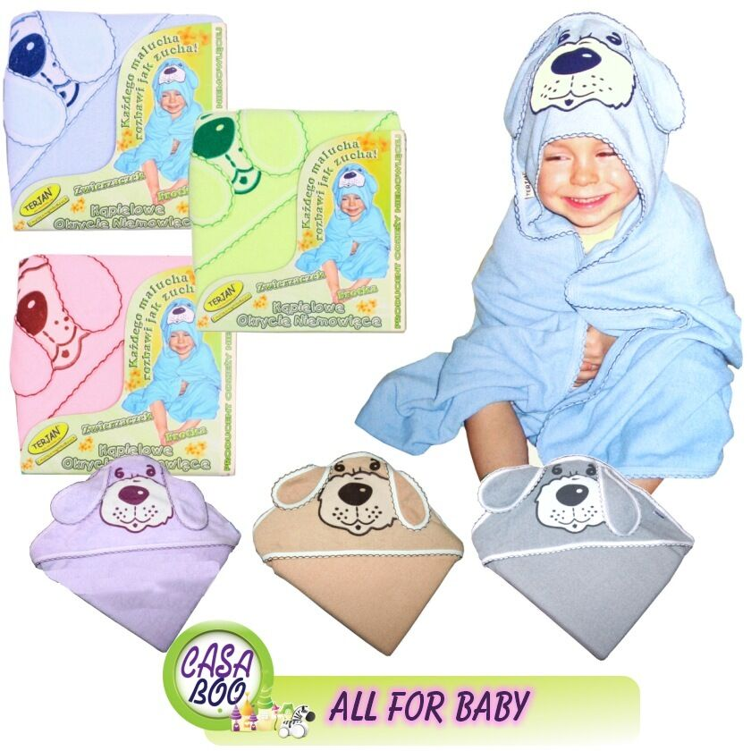 100% Cotton Extra Large Baby Hooded Bath Towel LUXURY 100