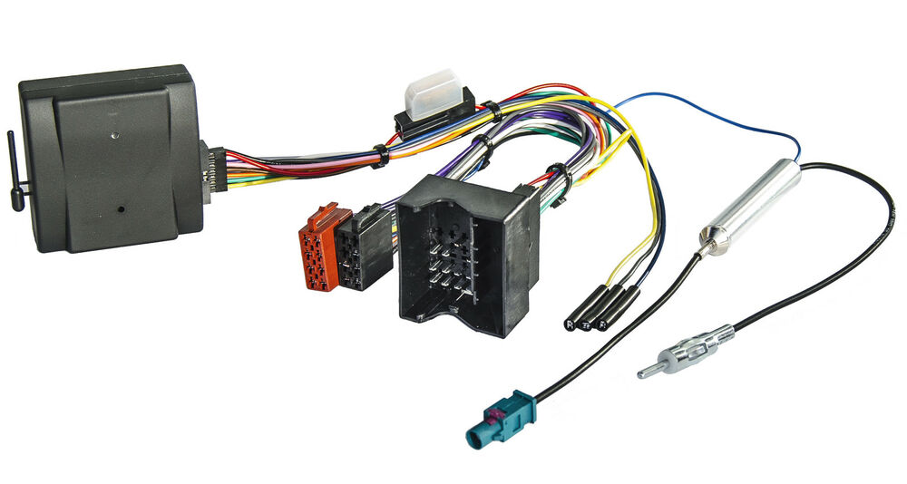 can bus interface radio adapter f r audi ford seat skoda. Black Bedroom Furniture Sets. Home Design Ideas