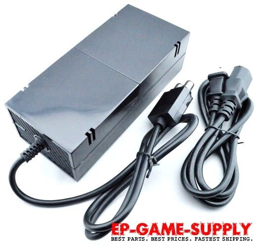 for microsoft xbox one console ac adapter brick charger. Black Bedroom Furniture Sets. Home Design Ideas