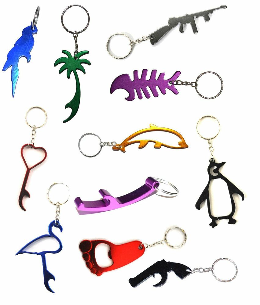 bottle opener keyrings metal keychain stocking filler ebay. Black Bedroom Furniture Sets. Home Design Ideas