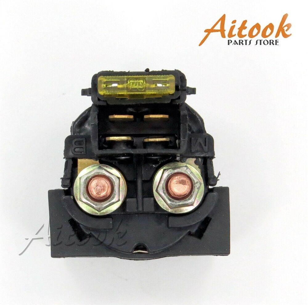 starter relay solenoid switch for kawasaki klf250 bayou. Black Bedroom Furniture Sets. Home Design Ideas