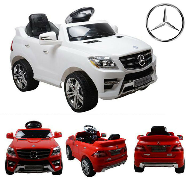 Mercedes benz ml350 amg electric r c remote control ride for Mercedes benz toy car ride on