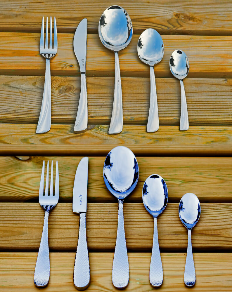 viners angel or glamour 26 piece cutlery set stainless. Black Bedroom Furniture Sets. Home Design Ideas