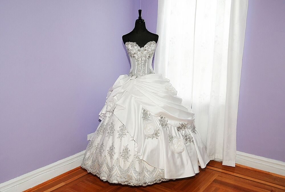 Wedding Dress By Galit Couture.