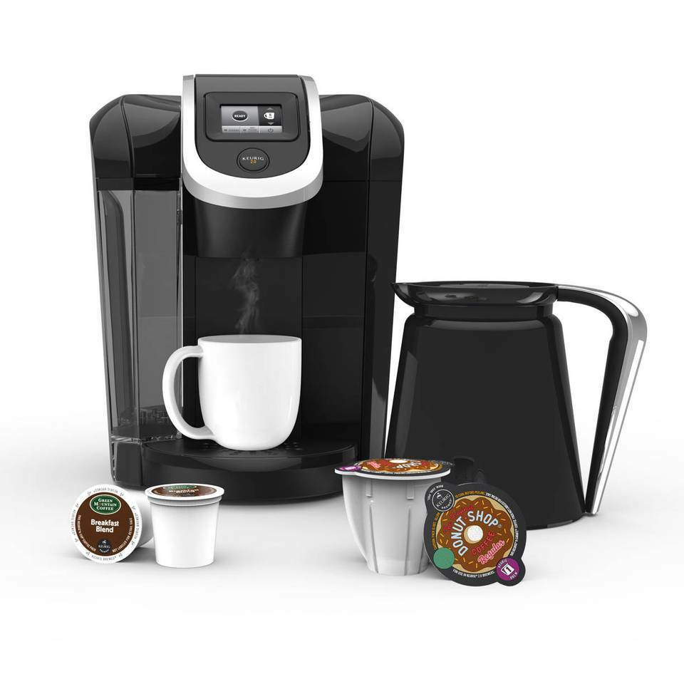 keurig 2 0 k350 k cup machine k carafe coffee maker