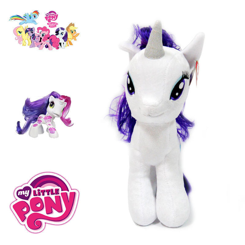 Best My Little Pony Toys And Dolls For Kids : Pc large cm my little pony white kids baby soft plush