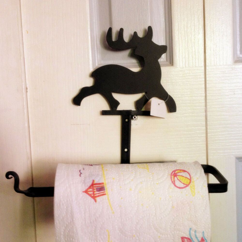 Wrought Iron Kitchen Paper Towel Holder Paper Rack Ebay
