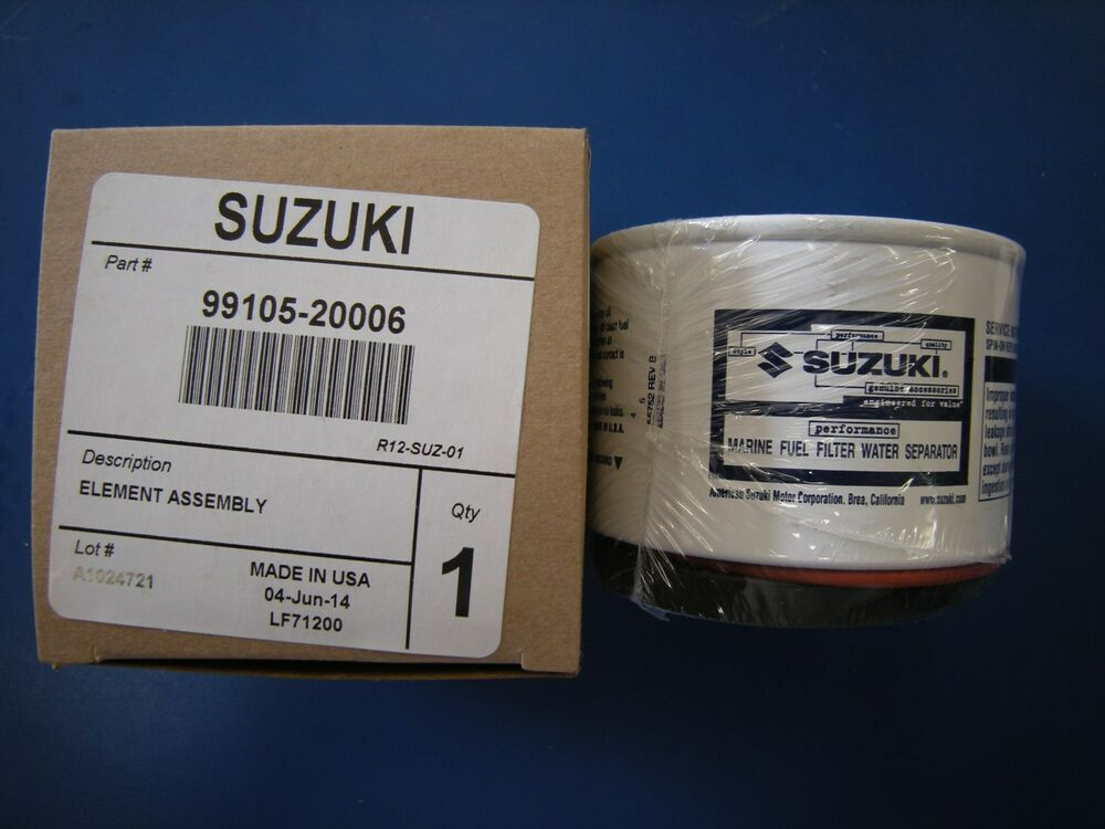 Suzuki Outboard Fuel Water Seperator Filter 99105