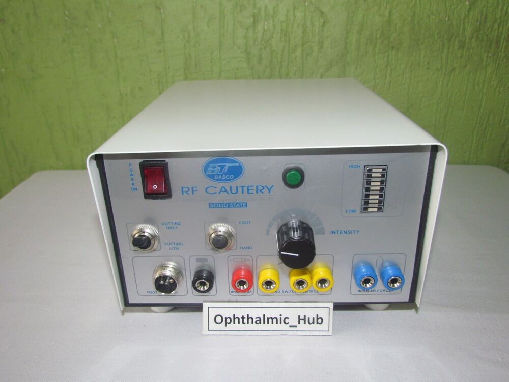 Radio frequency cautery 2mhz for ophthalmic complete with for Radio boden 98 2 mhz