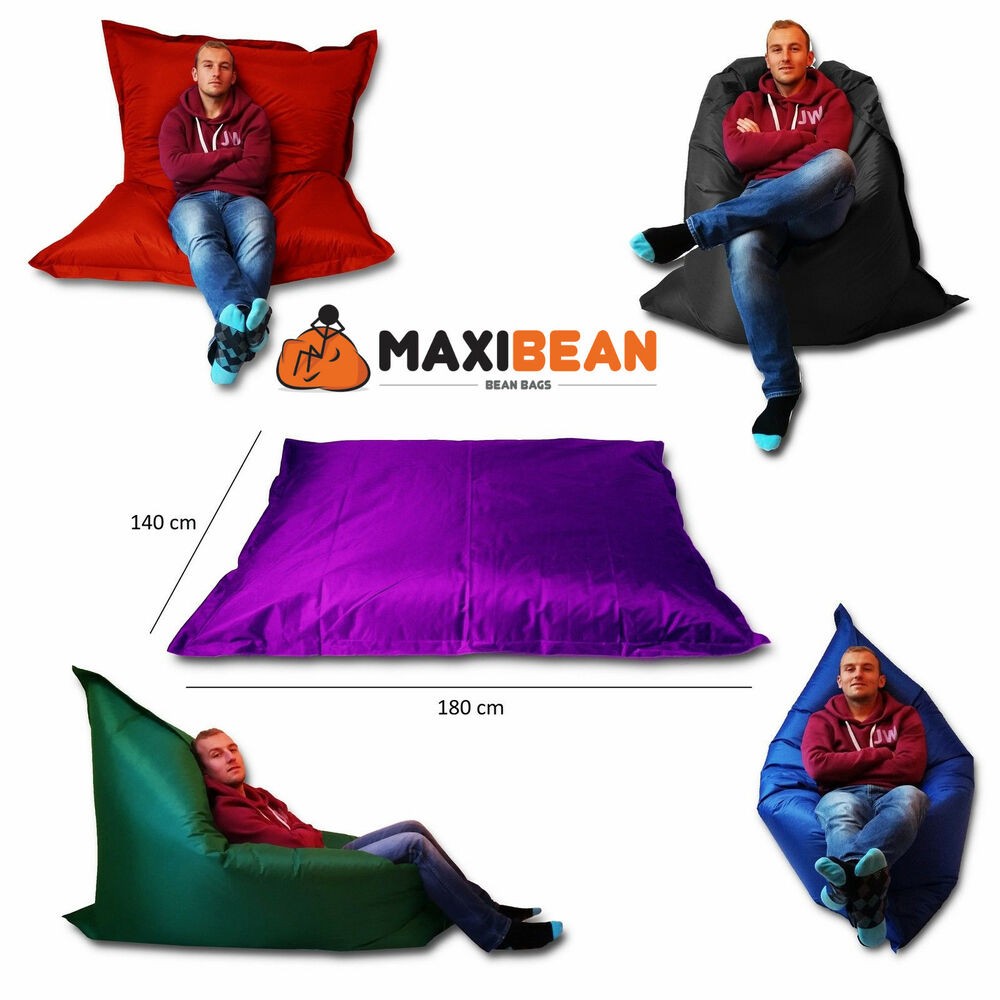 Large Bean Bag Giant Indoor Outdoor Beanbag Xxxl Garden