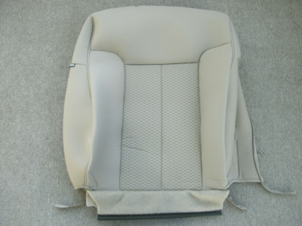 ford f 150 xlt tan cloth right front seat back cover 2009 2011 ebay. Black Bedroom Furniture Sets. Home Design Ideas
