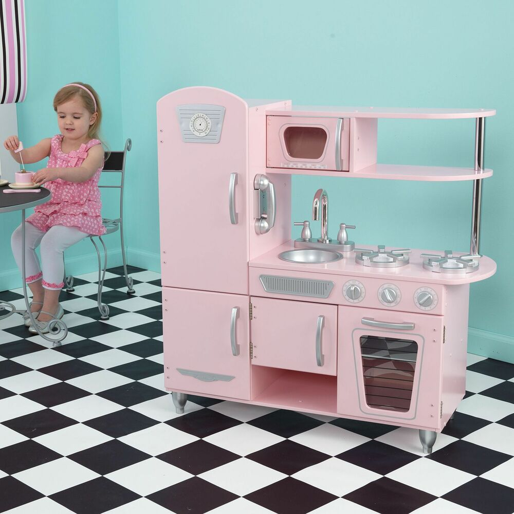 Vintage Kitchen By Kidkraft: New ! Kidkraft Classic Vintage Kitchen 53332