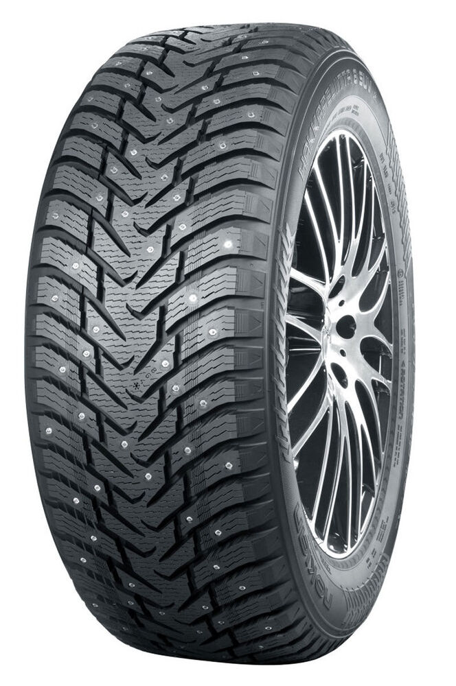 1 new nokian hakkapeliitta 8 suv studded winter snow tire 245 70r16 111t ebay. Black Bedroom Furniture Sets. Home Design Ideas
