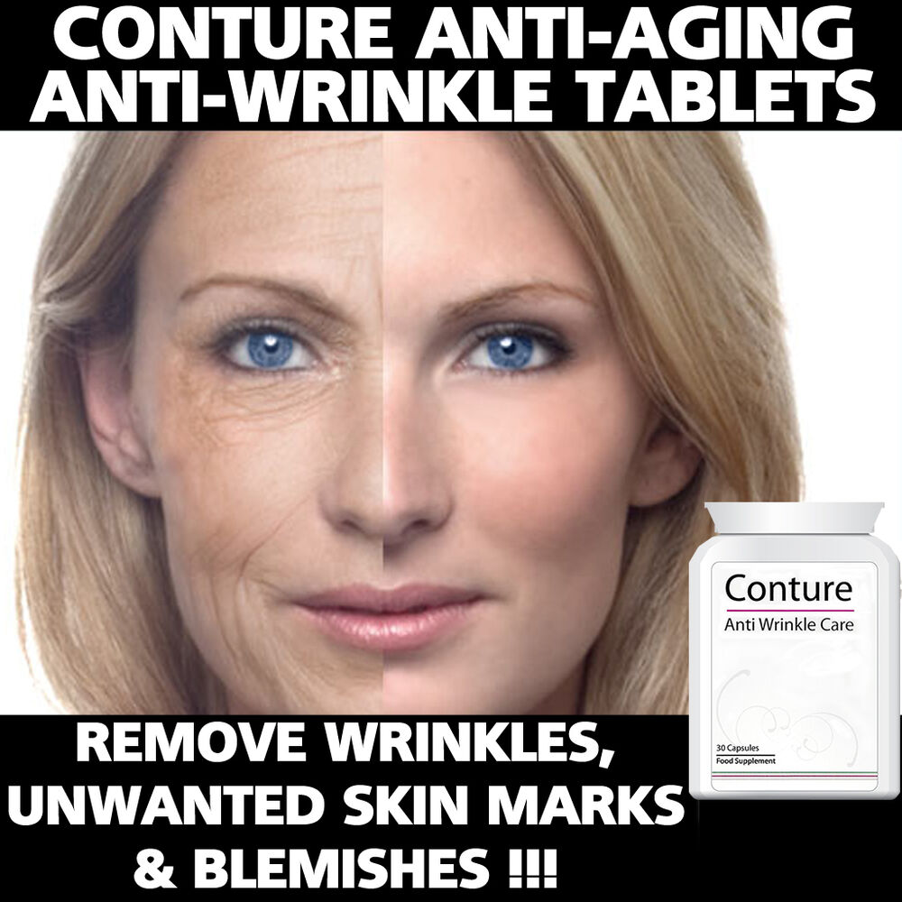 Aging: CONTURE ANTI AGING PILLS TABLETS STOP SAGGING REMOVE