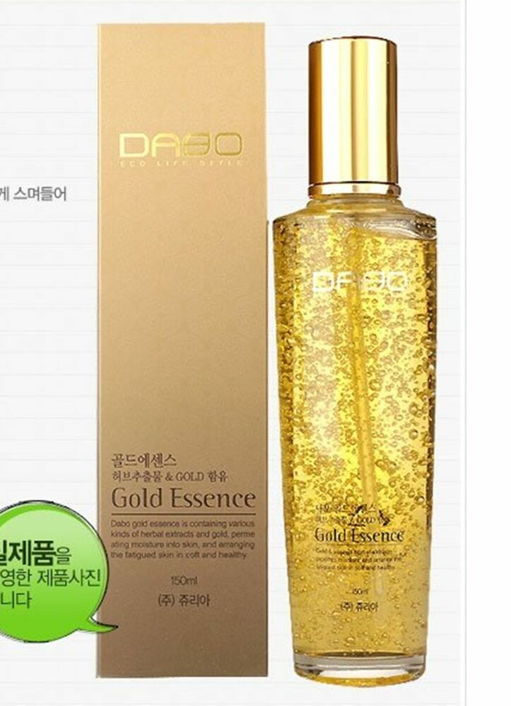 Details about  [DABO] GOLD ESSENCE Korean cosmetics Herbal extracts,moisture,skin care 150ML