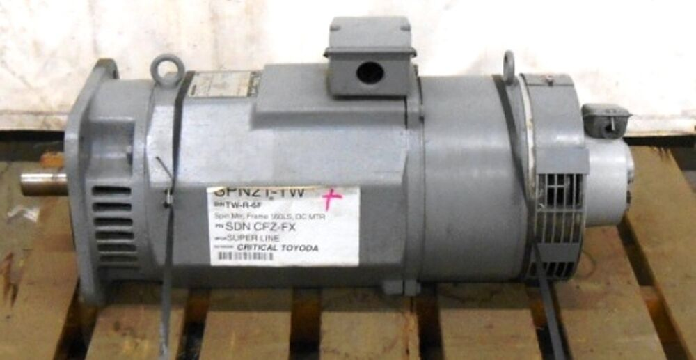 Mitsubishi electric superline dc motor sdn cfz fx 1000 for 1000 rpm dc motor