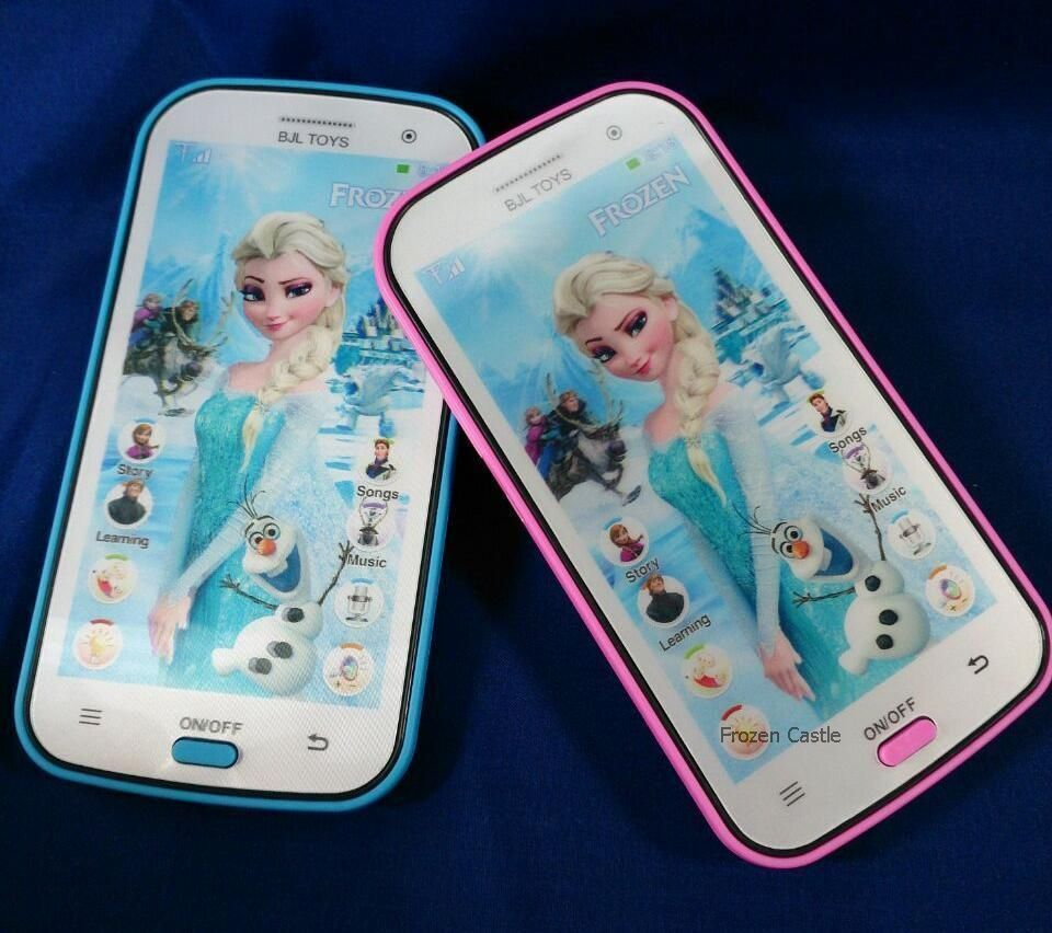 Disney Princess Toy Phone : Kids toy mobile phone smartphone learning device music