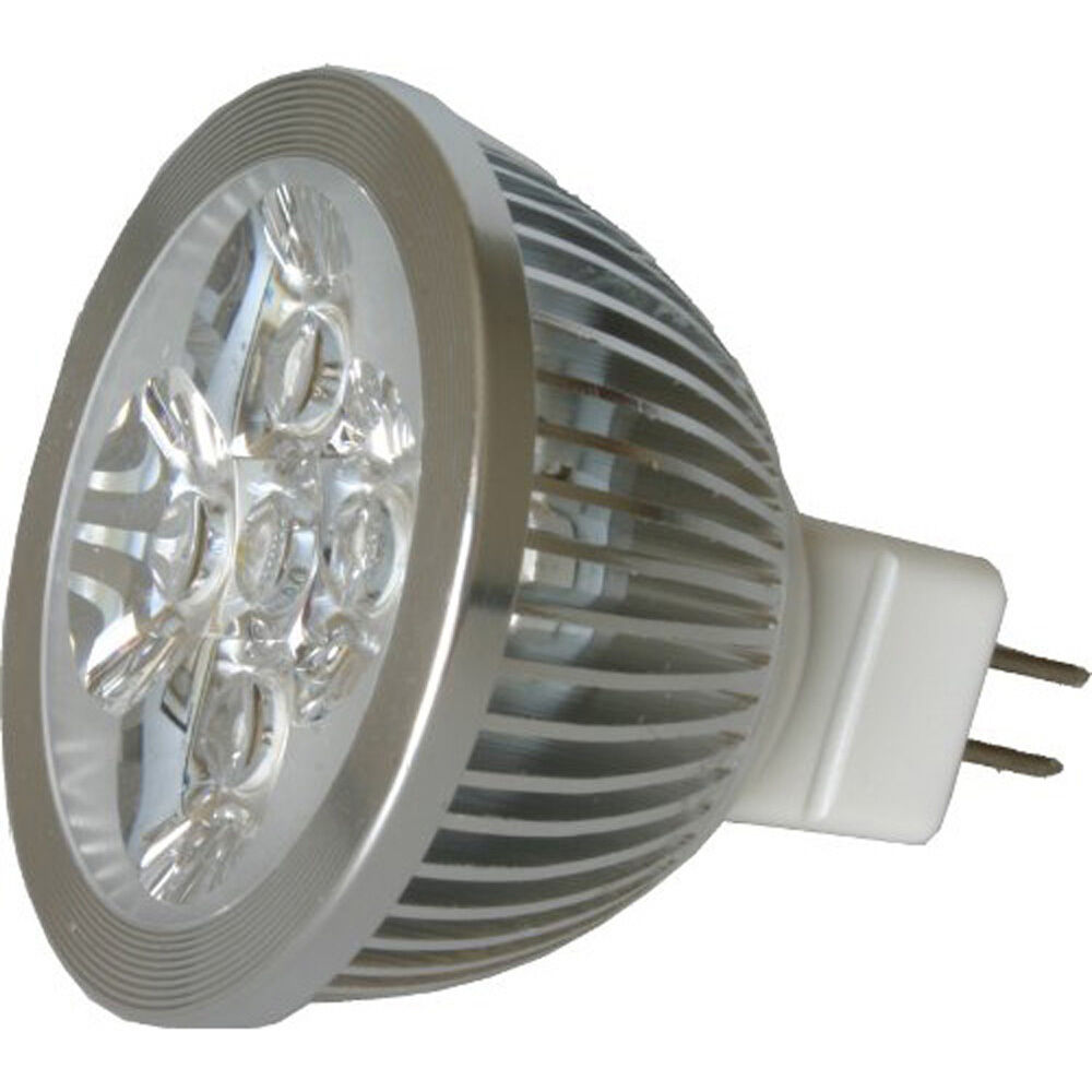 LED MR16 Spotlight 12V 4W 340 Lumen 50 Watt Equivalent