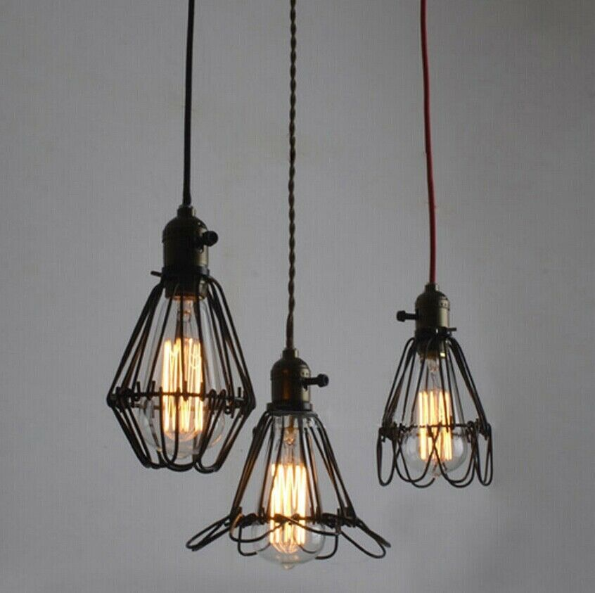 Rustic Wrought Iron Black Chandelier Lighting Ceiling