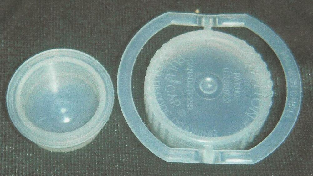 1 Blue Magic Waterbed Air Mattress Replacement Cap And