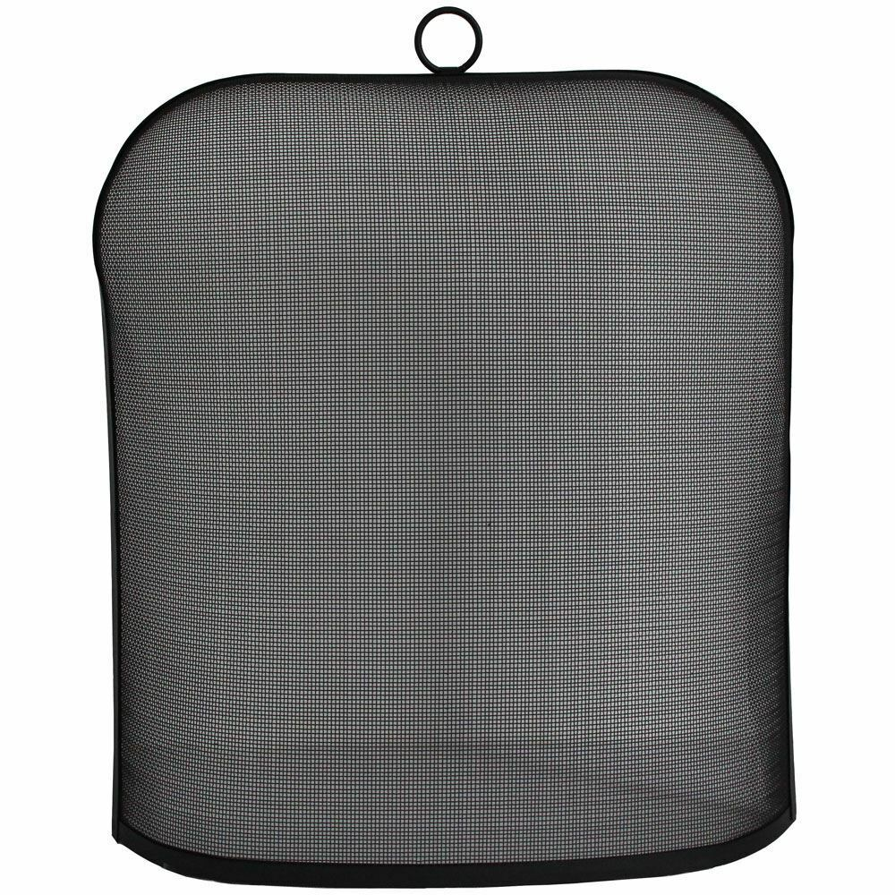 Ilton Fire Spark Guard Fireplace Screen Protector Ring