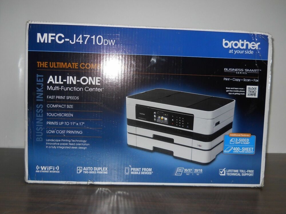 Brand New Brother MFC-J4710DW All-In-One Inkjet Printer 12502633402