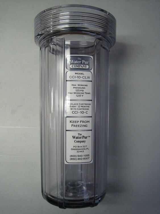 Cci 10 Clw Forest River Waterpur Water Filter Housing
