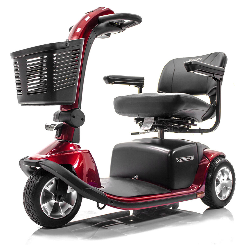 Pride victory 10 3 wheel electric mobility scooter sc610 for Mobility scooters