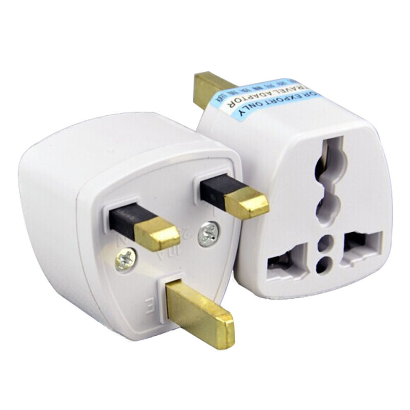 Eu To Aus Travel Adapter Qc2 0 Qc3 0 Adapter 9v 1 67a Android Adapter Realm Microsoft Xbox Wireless Adapter Xbox 360: HI 2x Portable US AU EU Europe To UK Power Socket Plug