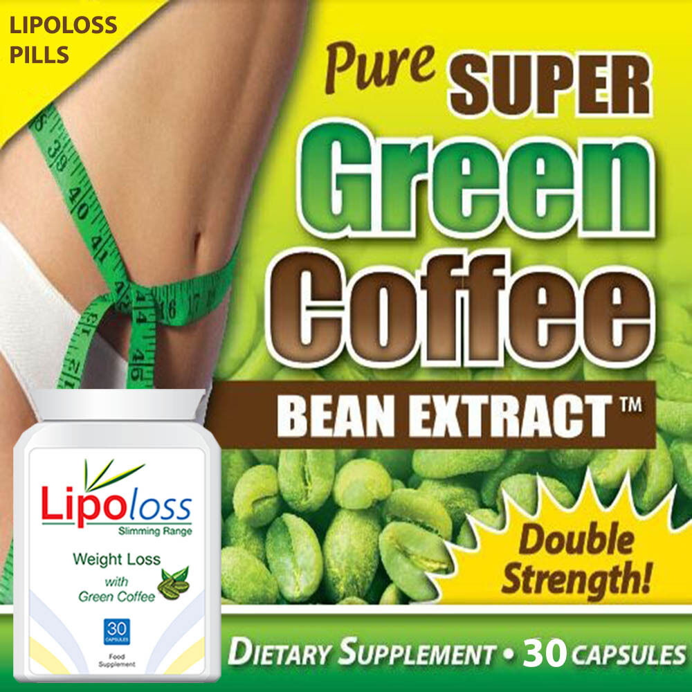Lipoloss Weightloss Pure Green Coffee Pills Diet Tablets