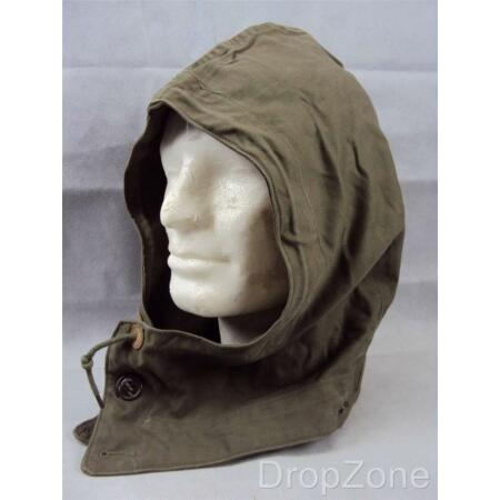 img-WWII US Military Army Field Jacket Parka M1943 M43 Hood, Small, Medium or Large