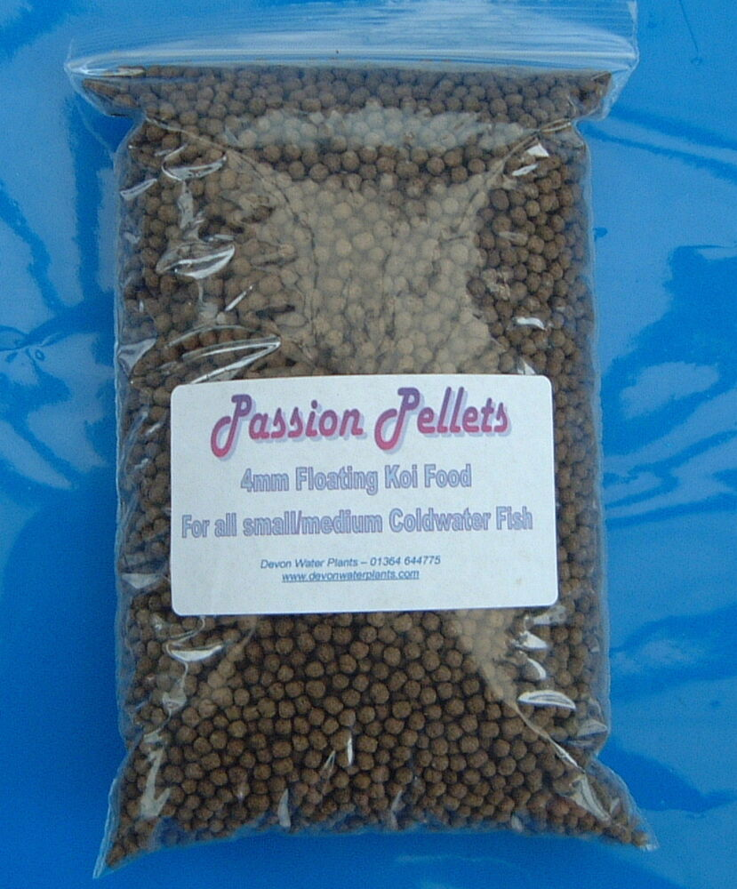 Floating pond pellets fish food koi orfe goldfish carp for Pond fish food