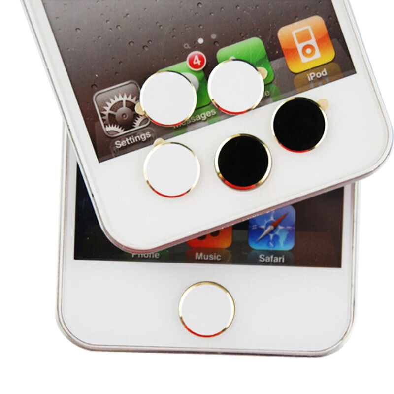 handy sticker home button aufkleber aluminium f r iphone 3 4 4s 5 ipad ebay. Black Bedroom Furniture Sets. Home Design Ideas
