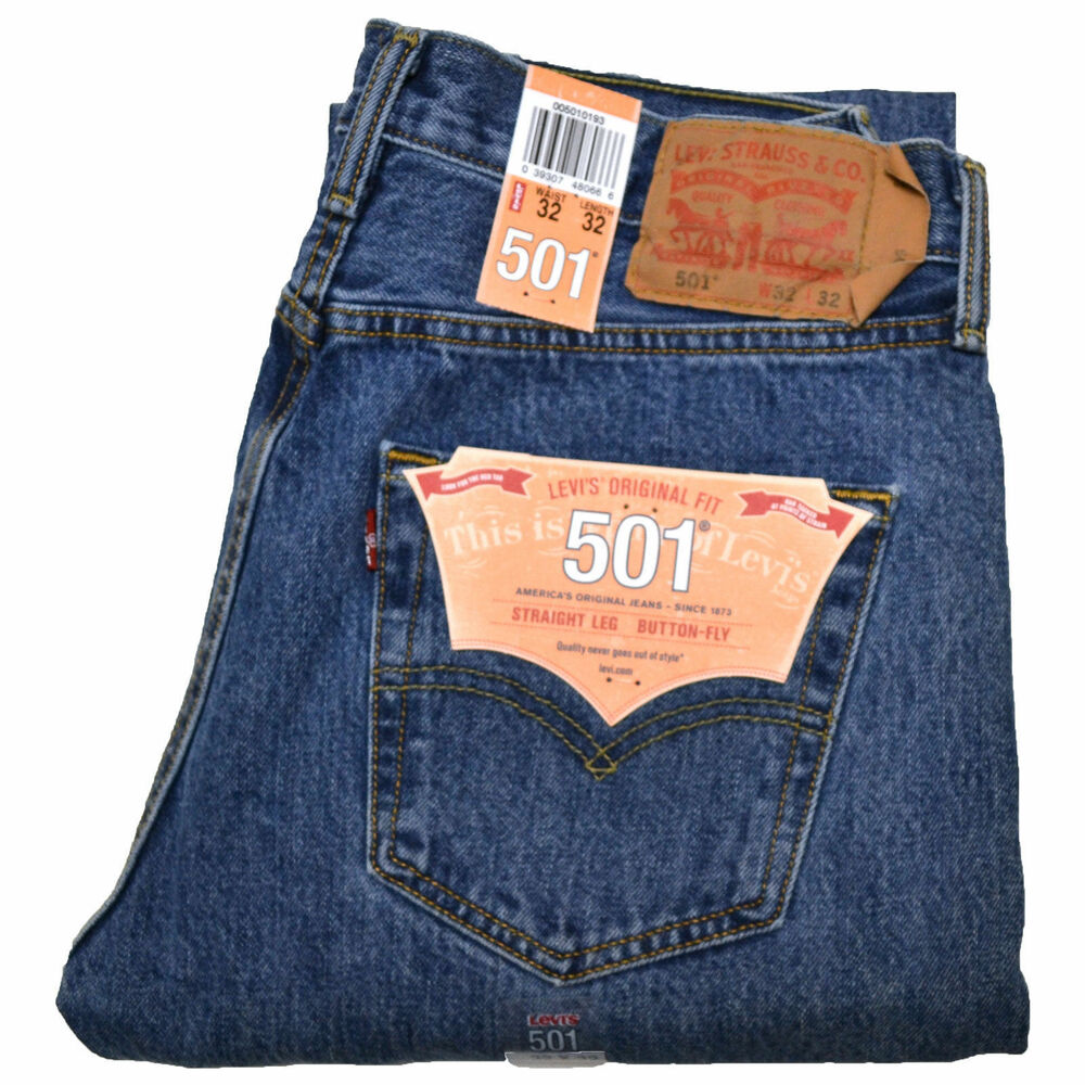 Levi's 501 Straight Classic Button Fly Jean(authentic ...
