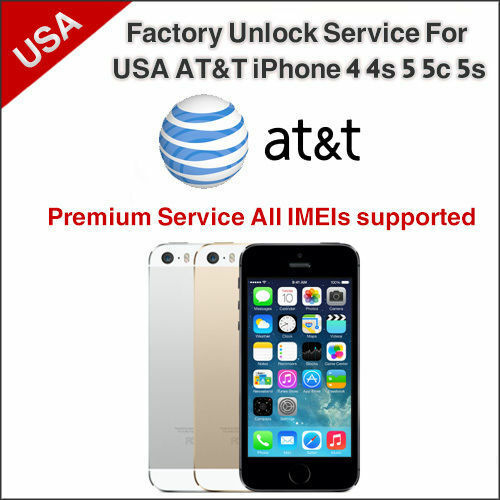 at t iphone unlock service premium factory unlock service at amp t iphone 3 3gs 4 4s 13511