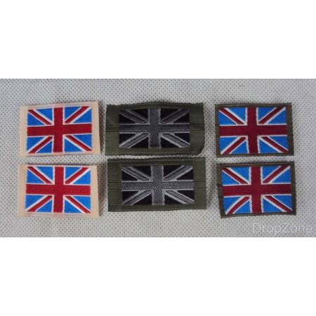 img-5 x Pairs British Military Army TRF Union Jack Badges Patches, 3 Colours