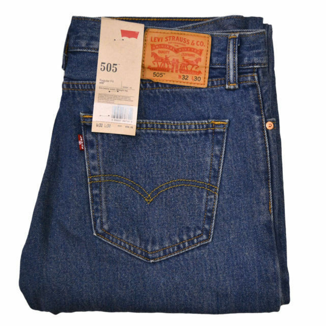 Levi Straight Leg Jeans For Men