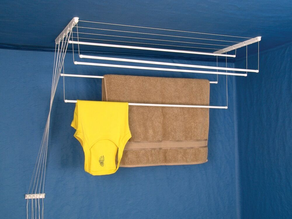 New Clothes Ceiling Pulley Airer Dryer Drying Rack From