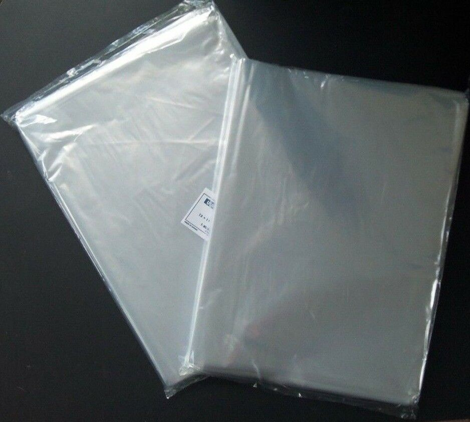 Multiple sizes clear poly bags 1mil flat open top plastic packaging packing ldpe ebay - Top plastic krukje ...
