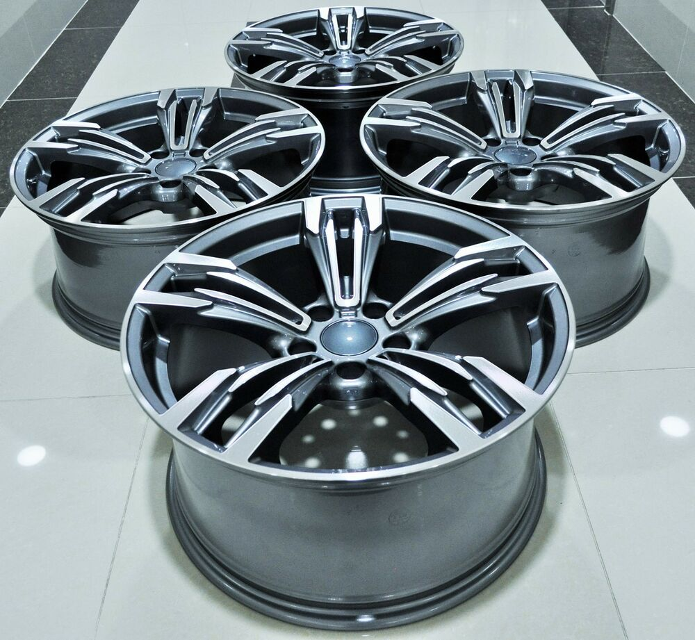 18 Quot New Bmw M6 Style Staggered Wheels Rims Fits 1 2 3 4 5