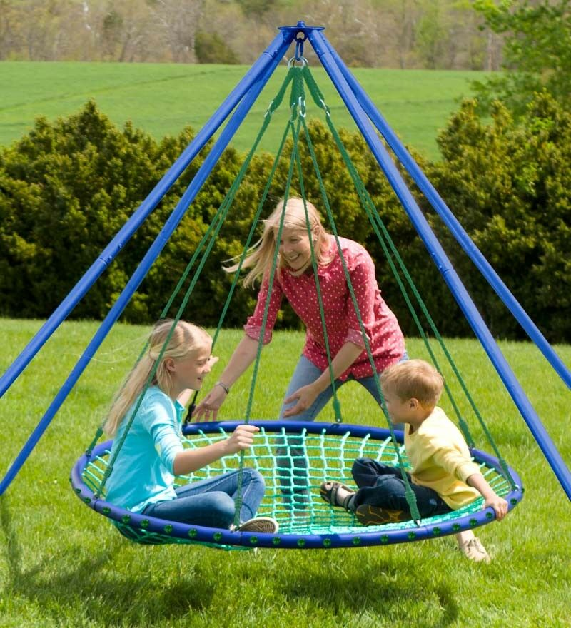 HearthSong® Sky Island Hanging Platform Swing For Children