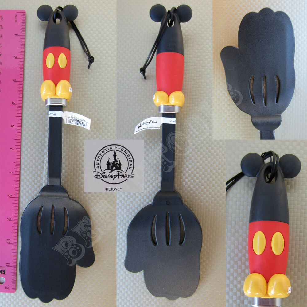 New Authentic Disney Parks Mickey Mouse Body Parts Spatula Flipper Kitchen  Glove | EBay