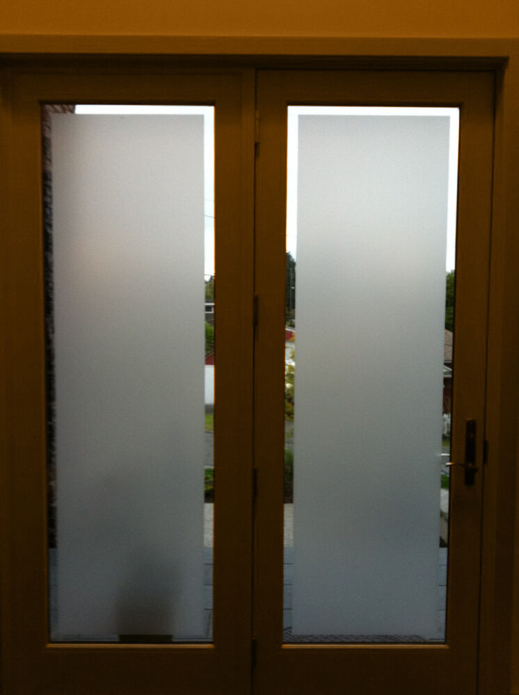 Vvivid Frosted Privacy Window Decal 1 5ft X 4ft Ebay
