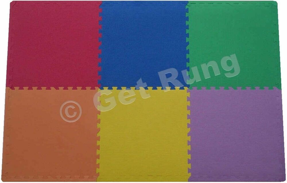 New Foam Puzzle Floor Mat Xl Large Pieces Gym Play Area