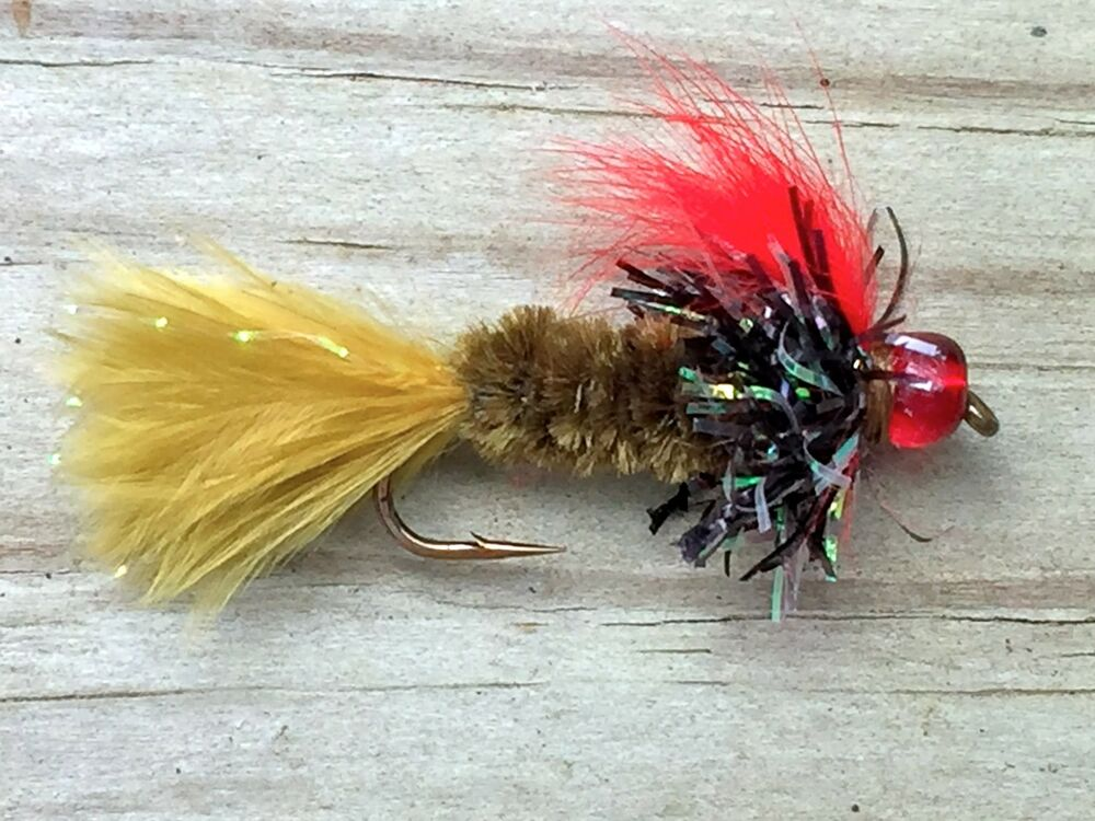 Fly fishing flies bass bream crappie trout salmon for Fly fishing flies for bass