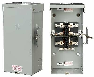 Ge Tc10323r Non Fused Emergency Power Transfer Switch 100a